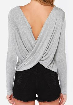 http://www.cichic.com/grey-plain-cut-out-cross-back-sexy-t-shirt.html