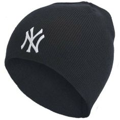 New York Yankees - Logo Beanie by MLB. $14.95. Officially Licensed New York Yankees Merchandise. The New York Yankees bring this knit, navy blue beanie cap with the iconic team logo embroidered in quality white stitching. A simple, stylish cap from the New York's classic ball club!