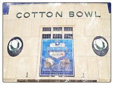 Cotton Bowl Stadium Dallas Texas Fair Park