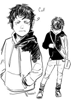 The protagonist! Drawn by Cassandra Jean