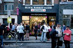 Retro Man Blog: The Clash - Black Market Clash Pop-Up Store Opening Party