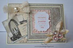 Crafter's Companion; Vintage Floral CD ROMVintage Florals CD Embossalicious - Decadent Rose Collall - All Purpose Glue Collall 3D Glue Lace Pearls