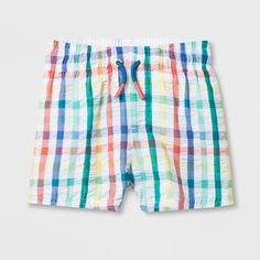 8ce724c571 Baby Boys' Swim Trunks - Cat & Jack White 12M White Swim Trunks,