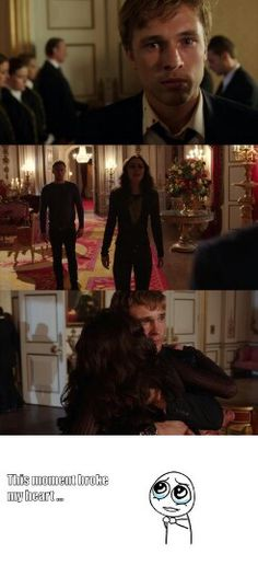 """#TheRoyals 1x10 """"Our Wills and Fates Do So Contrary Run"""" - Eleanor and Liam"""