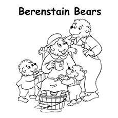 Berenstain Bears Printable Coloring