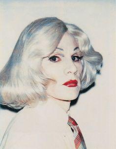 Andy Warhol. Self-portrait.