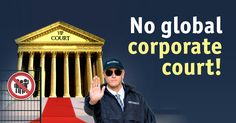 No global corporate court