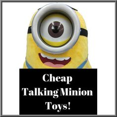a regularly updating list of the best deals and sales on Minion toys and plush toys that talk!  http://involvery.com/talking-despicable-me-minion-toys/