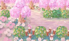 Visit the city of Léonie you expected ♥ Motif Acnl, Leaf Animals, Ac New Leaf, Happy Home Designer, Animal Crossing Game, Cute Games, Kawaii, Animal Games, Fan Art
