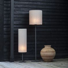 Increase Some Modern Day Design For Your Front Room With Art Deco Coffee Tables Agnar Outdoor Lin Natur Golvlampa Home Greenhouse, Cebu, Globes, Brighton, Wall Lights, Art Deco, Table Lamp, Lounge, Lighting