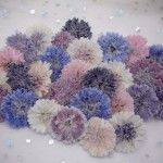 Crystallised edible Cornflowers in mixed colours, available in boxes of 12 or 20 . Unique Flowers, Edible Flowers, Sugar Flowers, Wild Flowers, Special Events, Special Occasion, Twitter Design, Crystal Flower, Growing Flowers