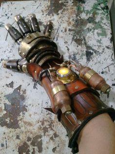 An impressive glove.