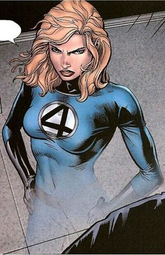 Fantastic Four: Invisible Woman Comic Movies, Comic Book Characters, Marvel Characters, Comic Character, Marvel Women, Marvel Girls, Comics Girls, Fantastic Four Marvel, Mister Fantastic