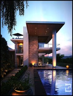 modern home + pool | 2G Studio