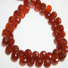 Red Chalcydony 8mm