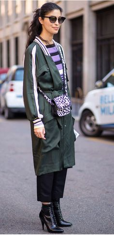 Telegraph Luxury's Caroline Issa paired contrasting patterns and textures to brilliant effect Milan Fashion Week Street Style, Street Style Looks, Street Outfit, Street Wear, Caroline Issa, Casual Outfits, Fashion Outfits, Fashion Weeks, Fashion Editor