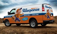 Best Truck Wraps and Fleet Branding from KickCharge Creative Van Design, Logo Design, Graphic Design, Wrap Advertising, Advertising Agency, Advertising Design, Truck Lettering, Vehicle Signage, Eco Friendly Cars