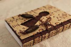 ardeas / Kľúčová dierka (zápisník) handmade bookbinding