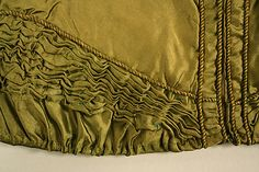 Spencer Date: early 19th century Culture: British (probably) Medium: silk, cotton