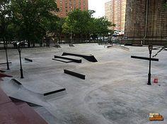 Replacing Modular Parks with Concrete - Skaters for Public Skateparks Parking Design, Skate Park, Playground, Concrete, Cool Designs, Sidewalk, Public, Around The Worlds, Exterior