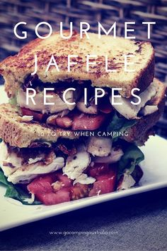 Camping recipes with a pie iron or jaffle iron! See what you can make on your next camping trip! Camping Desserts, Camping Meals, Camping Hair, Backpacking Food, Camping Guide, Camping Stuff, Gourmet Recipes, Cooking Recipes, Thing 1