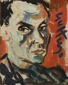 "lilithsplace: ""Self-portrait, 1948 - Renato Guttuso """