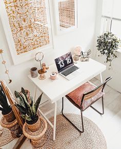 This is how you create your own (budget) home office! - This is how you create your own (budget) home office! – Everything to make your home your Home Office Nook, Home Office Space, Home Office Decor, Home Decor, Office Ideas, Small Office, Office Furniture, Furniture Ideas, Furniture Design