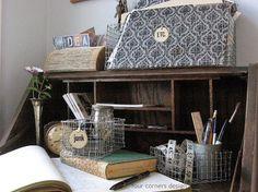D.I.Y. Haz un estupendo cesto de alambre | Decorar tu casa es facilisimo.com