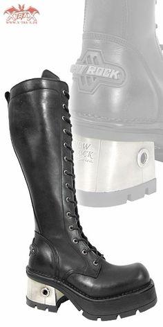 New Rock Boots - Boots 'Dark Lady' - Bargain Boots & Rangers: XtraX Underground Fashion: Gothic
