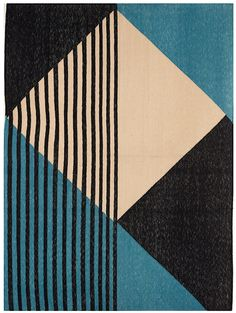 Tantuvi, Hand Dyed + Woven in India, Designed in NY. A new approach to traditional weaving and design with artisan in rural Rajasthan and the Deccan Plateau. Geometric Pattern Design, Geometric Designs, Pattern Art, Abstract Pattern, Abstract Art, Abstract Geometric Art, Geometric Shapes Art, Art Patterns, Textile Design