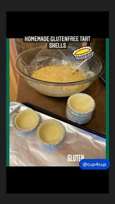 Gluten Free Diet, Gluten Free Desserts, Gluten Free Recipes, Tart Shells, Pie, Bread, Homemade, Baking, Torte