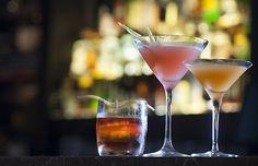 Três drinques com uísque