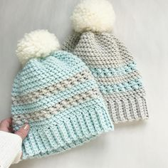CROCHET PATTERN The Icelyn Crochet Hat Pattern Crochet Hat
