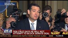 Ted Cruz caves on shutdown, but calls it a personal win