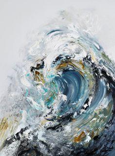 Summer Wave Crashing (Maggi Hambling)