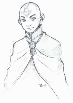Older Aang by Fenchan #Atla