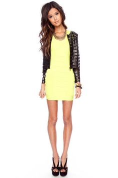Neon + Leather
