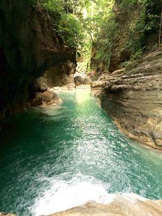 Canyoneering MoalBoal,Cebu