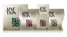 Jaf Tea brand and packaging   Studio H   paperspecs.com
