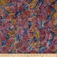 Designed by Lunn Studios for Robert Kaufman, this Indonesian batik is perfect for quilting, apparel and home décor accents. Colors include shades of blue, shades of grey, shades of pink and shades of yellow.