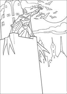 Batmans Batarang Coloring Page Print Out And Color This Decorate Your Room With Lovely Pages From
