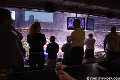 Lucas Oil Stadium as seen from within the Glick Luxury Suite