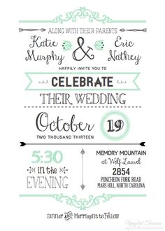 Diy Wedding Invitations: Part 1