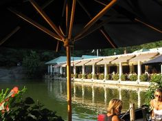 The Central Park Boathouse in NYC. The most beautiful place to eat in the City.