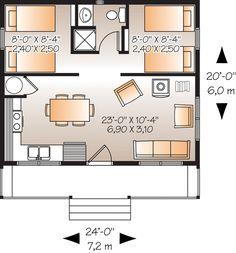 Tiny House 500 Sq Ft