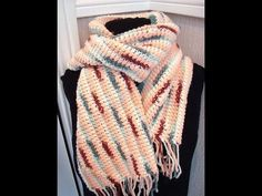 HOW TO CROCHET A SCARF, easy method
