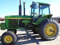John Deere 4630 tractor salvaged for used parts. This unit is available at All States Ag Parts in Bridgeport, NE. Call 877-530-5010 parts. Unit ID#: EQ-23734. The photo depicts the equipment in the condition it arrived at our salvage yard. Parts shown may or may not still be available. http://www.TractorPartsASAP.com