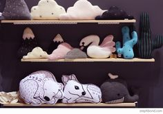 Bondville: 10 products to watch from Sydney Kids InStyle 2015 - Homely Creatures cushions