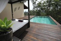 Hunter Valleys Romantic, Secluded, Private and Luxurious Retreat for Couples with Log Fires and Private Pools Log Fires, Daybeds, Private Pool, Pavilion, Sun Lounger, Decks, Spa, Australia, Windows