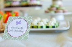 Cucumbers - party food canapes ideas for a baby shower.jpg
